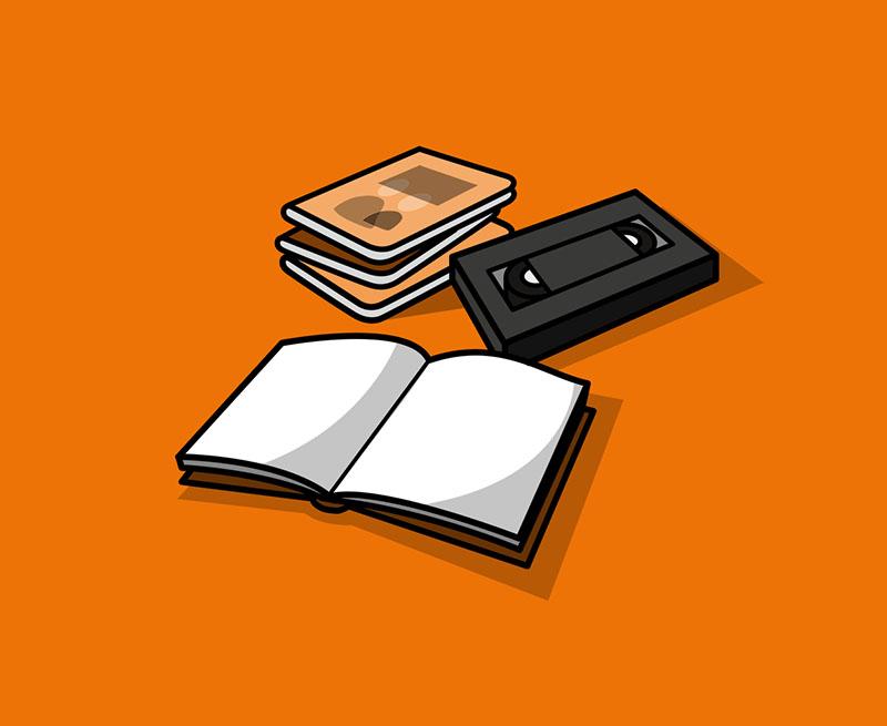 Karton versch. Bücher zu verschenken